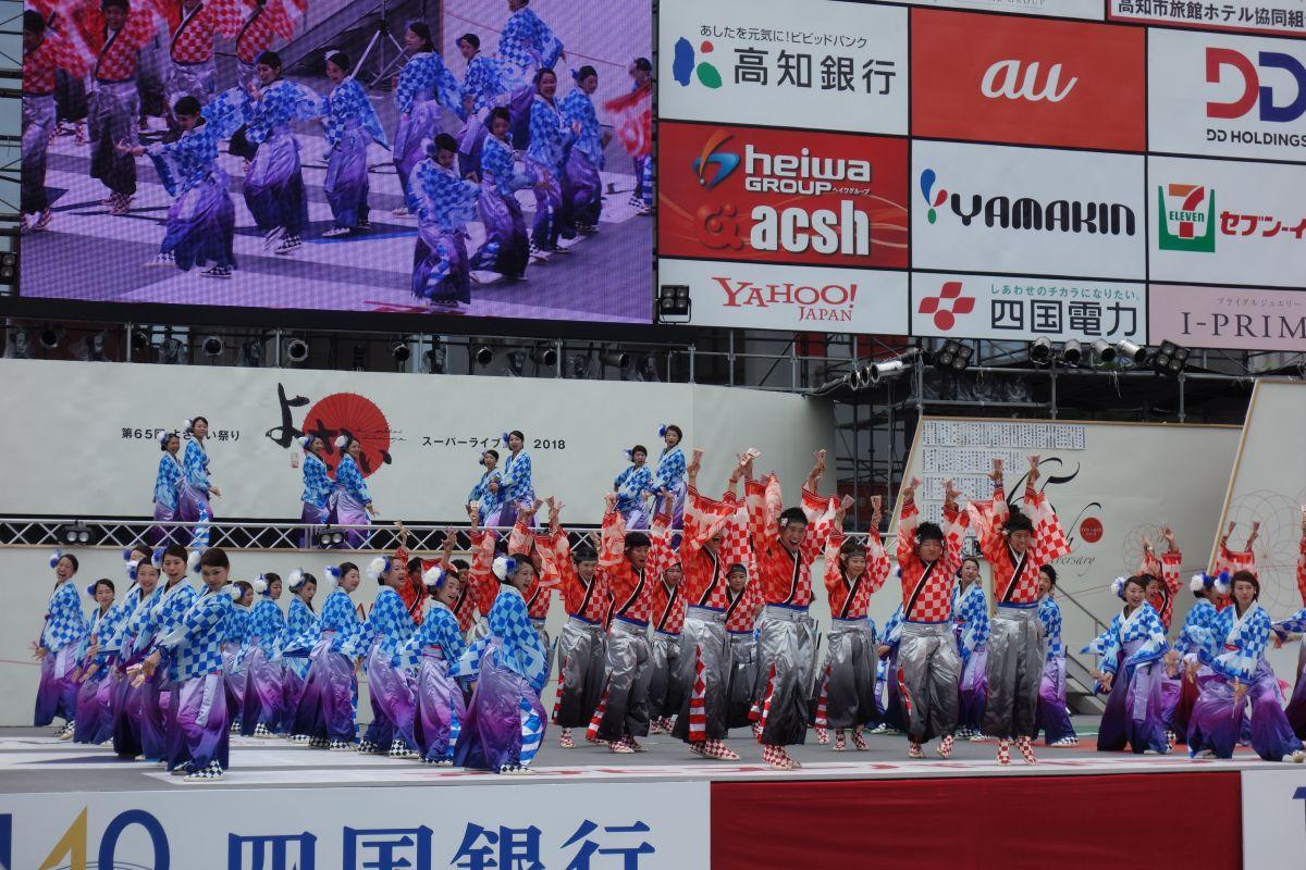 Tanzgruppe aus Tokyo auf eine der Bühnen #2