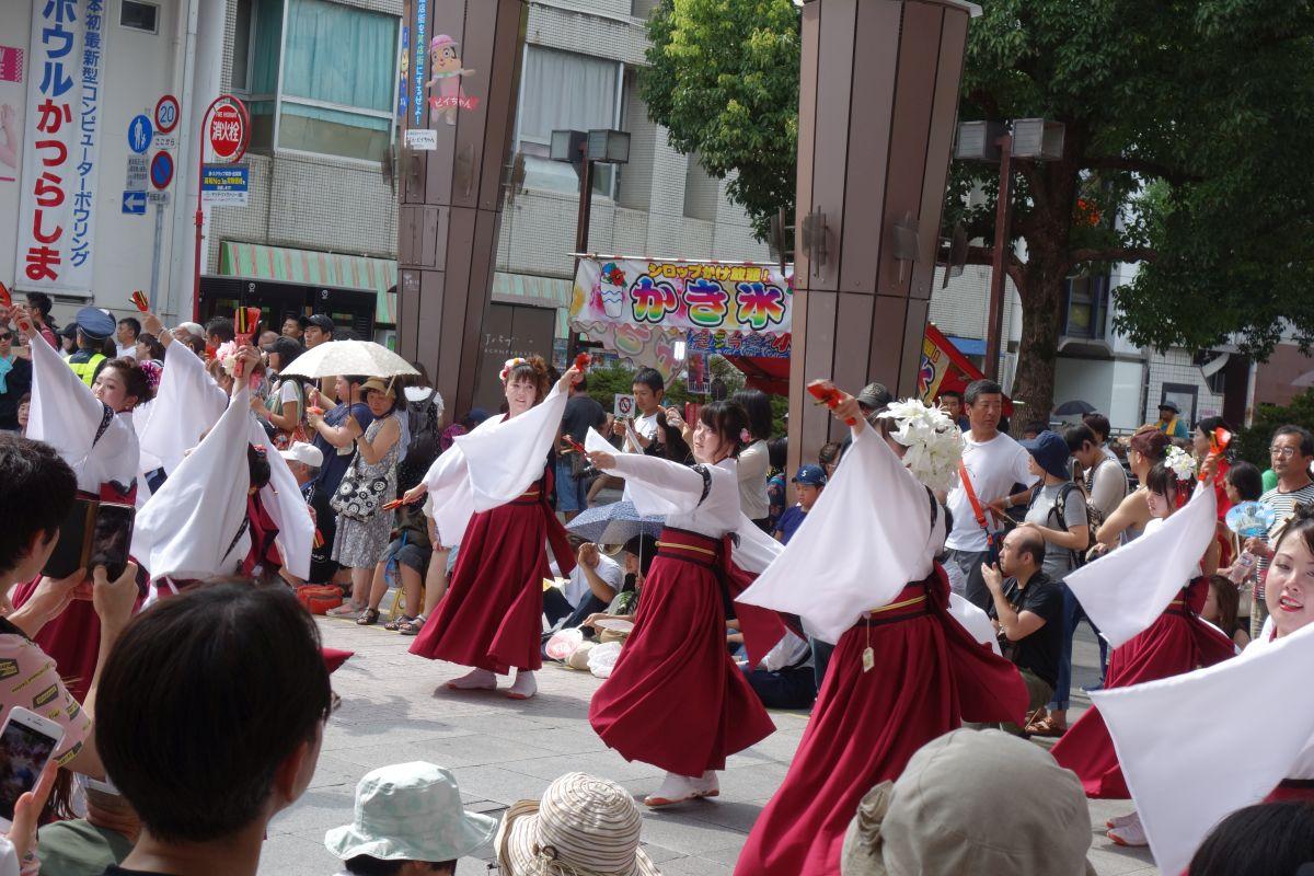 Yosakai Tanzgruppe in der Parade #33