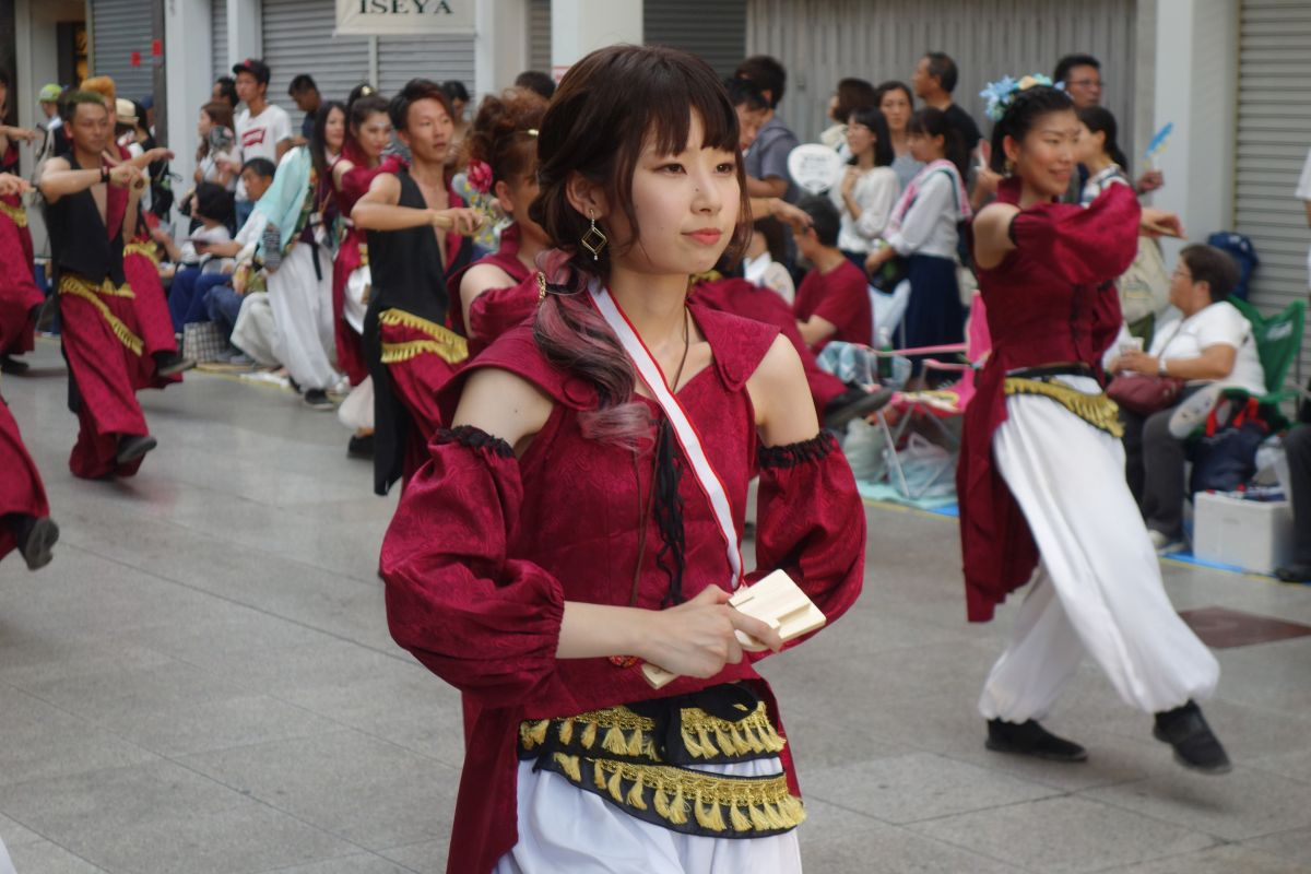 Yosakai Tanzgruppe in der Parade #51